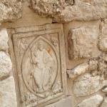bassorilievo Abbazia S.Maria di Pulsano, Monte Sant'Angelo