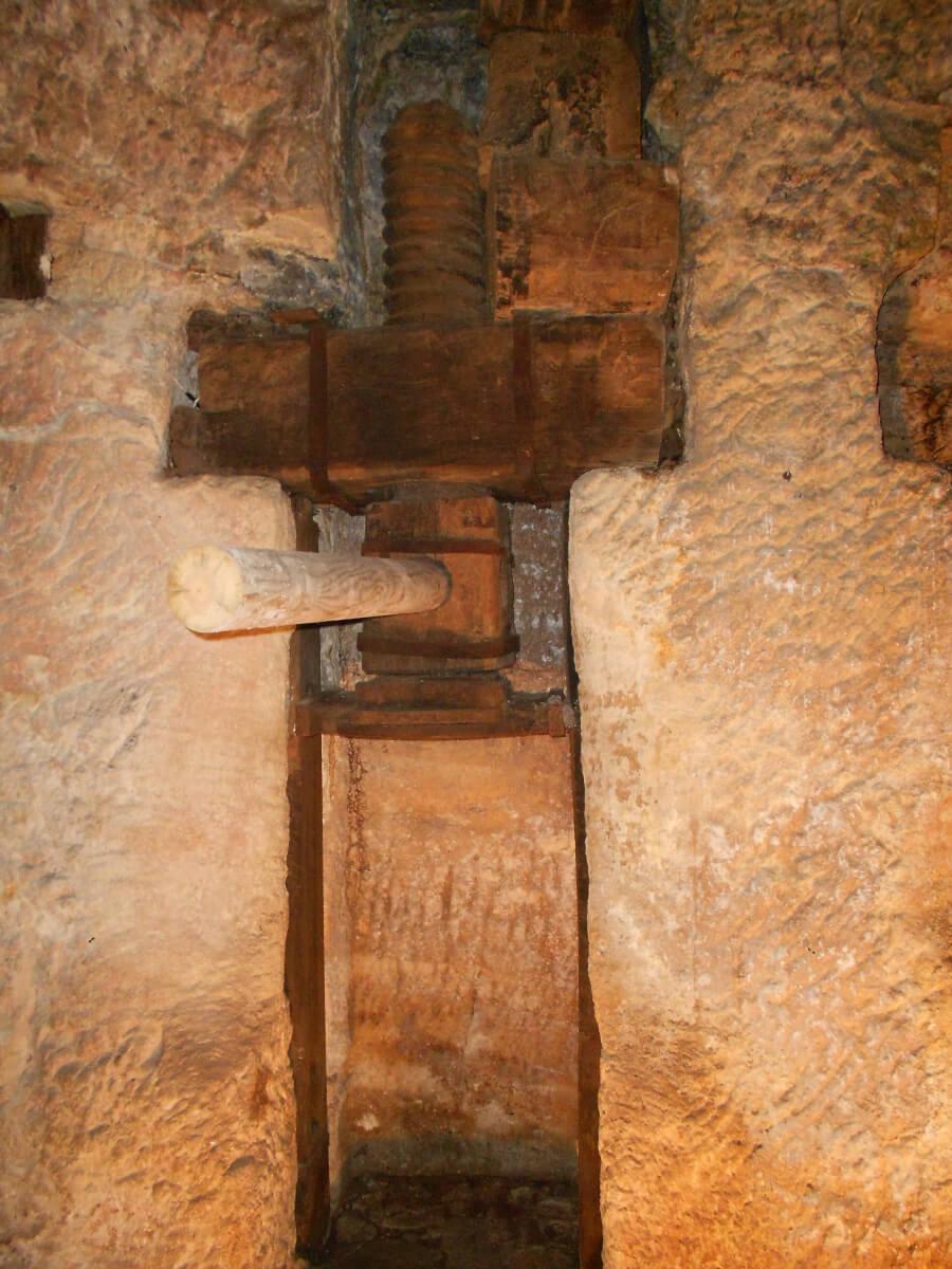 Antica macina per l'olio, Vico del Gargano